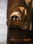 Nave of the Cathedral in Valencia