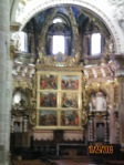 Altar of the Cathedral in Valencia