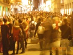 Here's a closeup of that crowded street