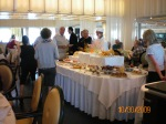 The galley lunch extended into the restaurant