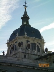Closeup of Cathedral dome