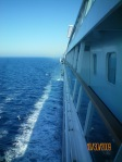 They don't need sideview mirrors to see the side of the ship