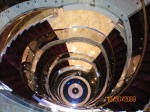 Looking down the Grand Stair